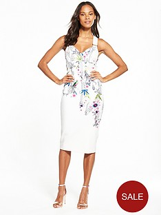 ted-baker-passion-flower-bodycon-dress