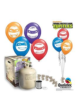 Teenage Mutant Ninja Turtles Teenage Mutant Ninja Turtles Helium Canister &Amp Balloon Kit