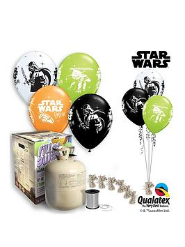 Star Wars Helium Canister &Amp Balloon Kit