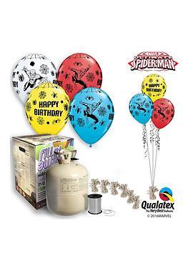 Spiderman Spiderman Helium Canister &Amp Balloon Kit