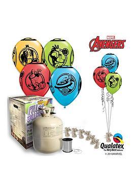 Marvel Marvel Avengers Helium Canister &Amp Balloon Kit