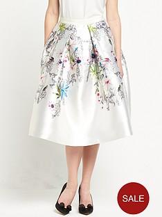 ted-baker-passion-flower-full-skirt-ivorynbsp