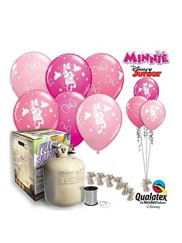 Minnie Mouse Minnie Mouse Helium Caniser &Amp Balloon Kit