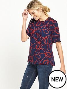 warehouse-rope-print-t-shirtnbsp