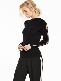 warehouse-90snbspsplit-sleeve-jumper