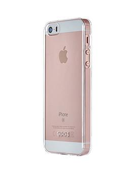 Qdos Qdos Fusion Hd  Clear Case  Screen Protector For Iphone Se 5S 5