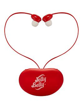 Qdos Jelly Belly Very Cherry Earphones With Carry Case