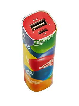 qdos-jelly-bellynbspmulti-coloured-tube-power-bank