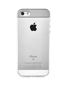 qdos-qdos-topper-case-silver-for-iphone-se-5s-5
