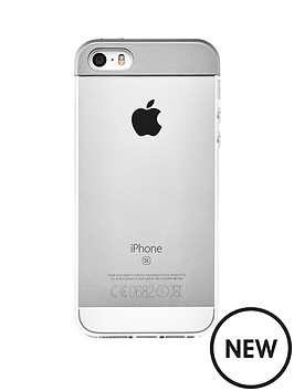 qdos-qdos-topper-case-silver-for-iphone-se-5s-5