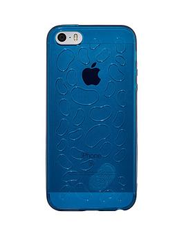Qdos Jelly Belly  Blueberry Scented Flexi Case For Iphone Se55S