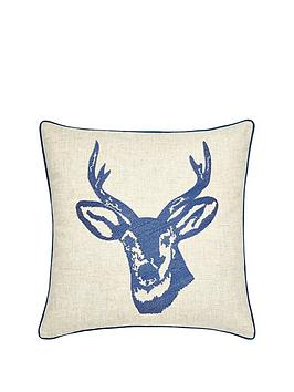 catherine-lansfield-stagrsquos-head-cushion