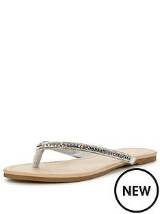 oasis-daisy-diamonte-flip-flop-toe-post