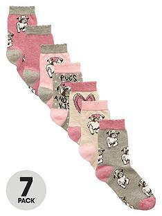 v-by-very-girls-pug-ankle-socks-7-pack