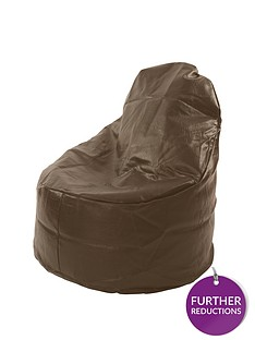 kaikoo-faux-leather-large-slouch-chair