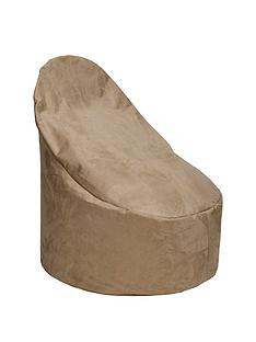 kaikoo-faux-suede-large-slouch-chair