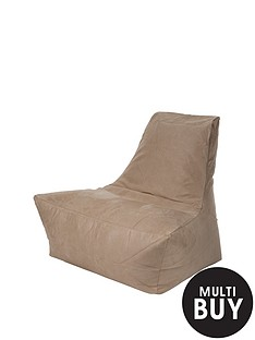kaikoo-faux-suede-large-lounger