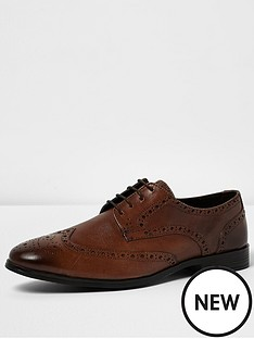 river-island-rogue-leather-brogue