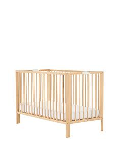 mothercare-folding-cot-beech