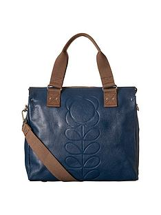 orla-kiely-leather-messenger-bag