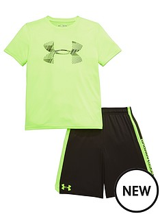 under-armour-under-armour-older-boys-tee-and-shorts-set