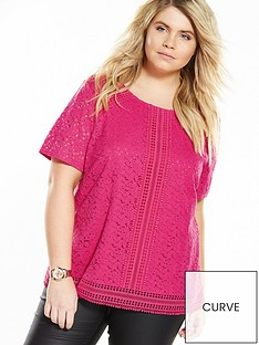 v-by-very-curve-curve-lace-panel-top-pink
