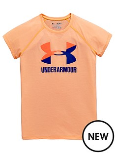 under-armour-older-girls-logo-tee