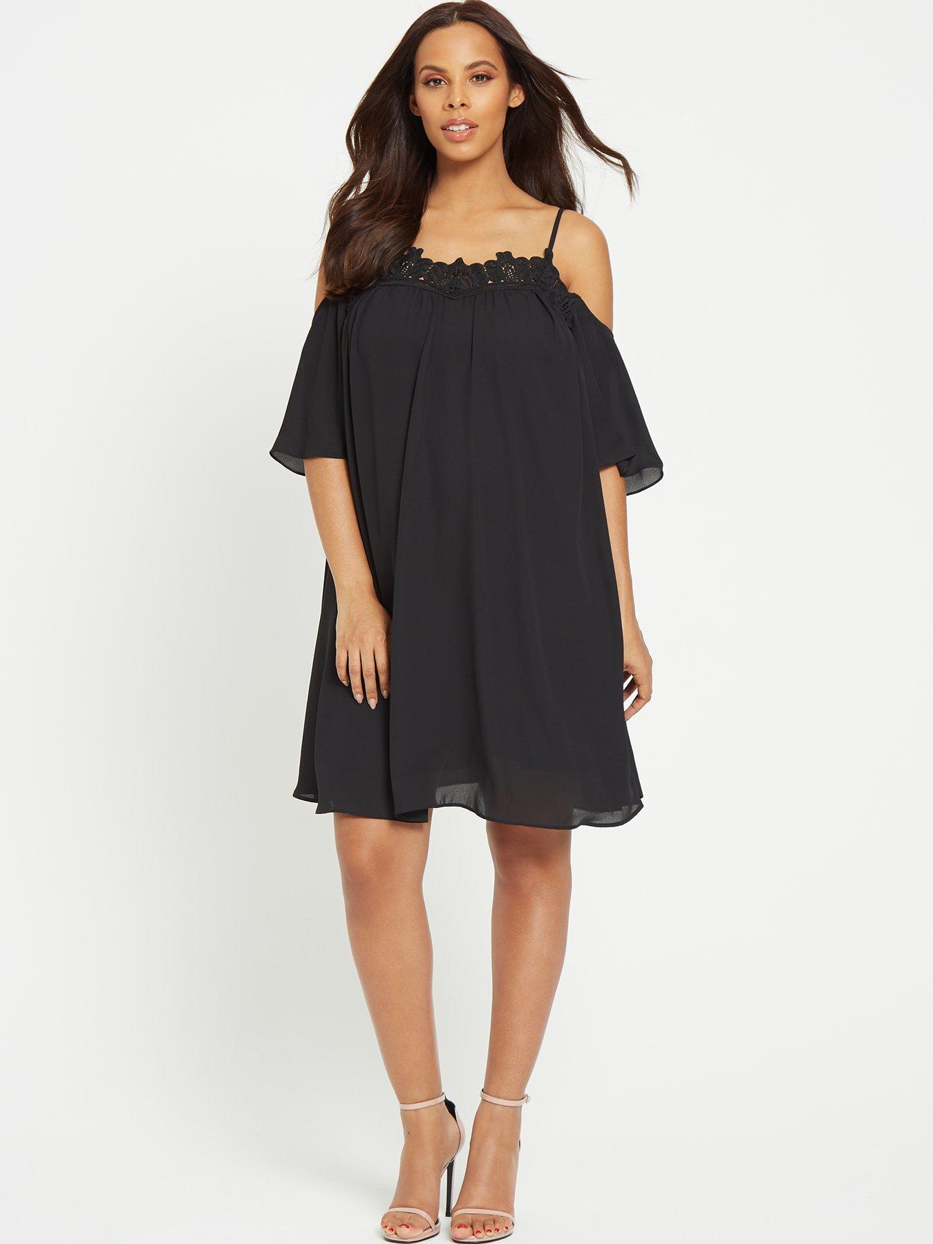 Black dress 12 months maternity