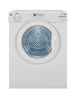 White Knight C39Aw 3.5Kg Load Compact Vented Freestanding Tumble Dryer  White