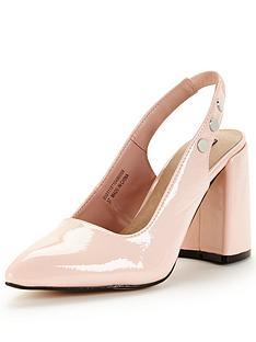 lost-ink-fatima-sling-back-flared-heel