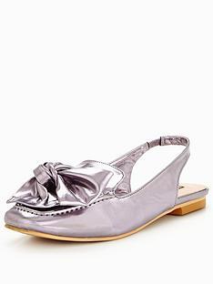 lost-ink-hara-bow-sling-back-flat-shoe