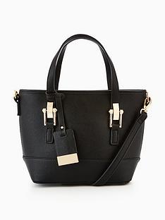 miss-selfridge-mini-scratchy-tote-bag