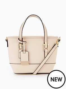 miss-selfridge-mini-scratchy-tote-bag-creamnbsp