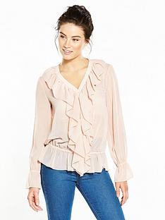 v-by-very-ruffle-detail-blouse