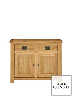 luxenbspcollection-oakland-ready-assembled-100-solid-wood-compact-sideboard