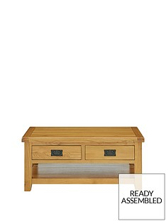 luxe-collection-oakland-100-solid-wood-2-drawer-ready-assembled-coffee-table