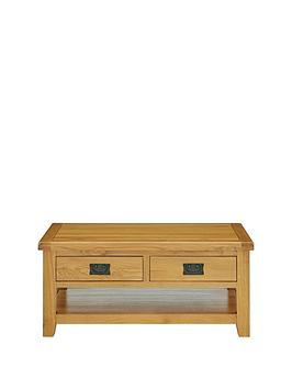 Luxe Collection Luxe Collection - Oakland 100% Solid Wood 2 Drawer Ready  ... Picture