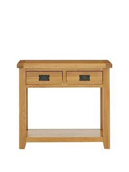 Luxe Collection Luxe Collection - Oakland 100% Solid Wood Console Table Picture