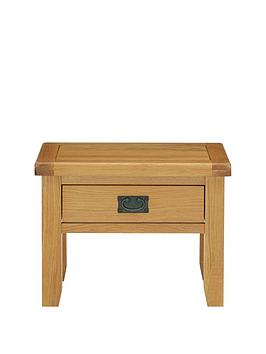 Luxe Collection  Oakland 100 Solid Wood Ready Assembled Lamp Table