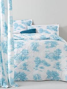 catherine-lansfield-avignon-vintage-toile-duvet-set-with-oxford-pillowcasesbr-br
