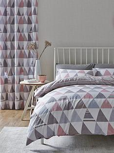 catherine-lansfield-geo-triangles-easy-care-duvet-cover-set