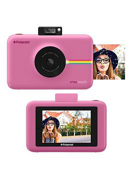 Polaroid Snap Touch&Trade Instant Print Digital Camera With Lcd Display  Blush Pink