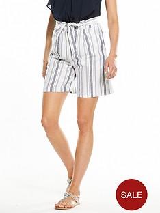 v-by-very-linen-stripe-short