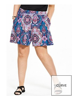 v-by-very-curve-printed-jersey-short