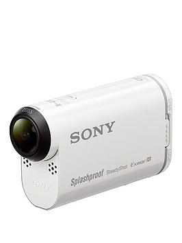 Sony Sony HdrAs200V Action Camera With Live View Wrist Remote