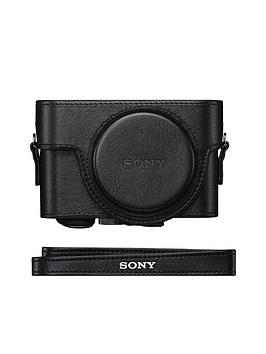 Sony Sony LcjRxf Leatherette Custom Fit Jacket Case For Rx100M2M3M4M5