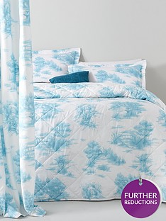 catherine-lansfield-avignon-toile-bedspread-throw