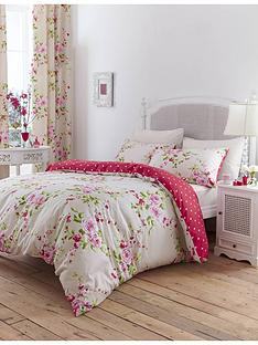 catherine-lansfield-canterbury-pencil-pleat-curtains-in-red
