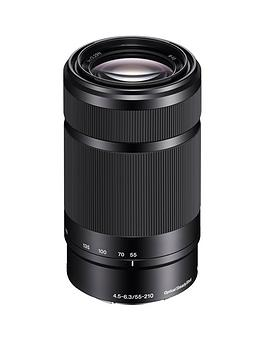 Sony Sony Sel55210 E Mount  ApsC 55210Mm F4.56.3 Telephoto Zoom Lens (Black)