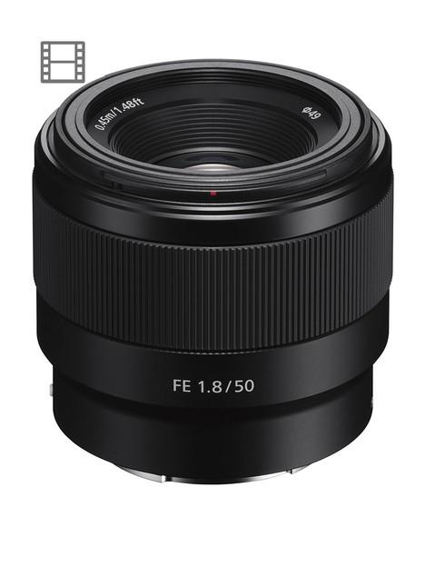 sony-sel50f18f-e-mount-50-mm-f18-full-frame-prime-lens-black